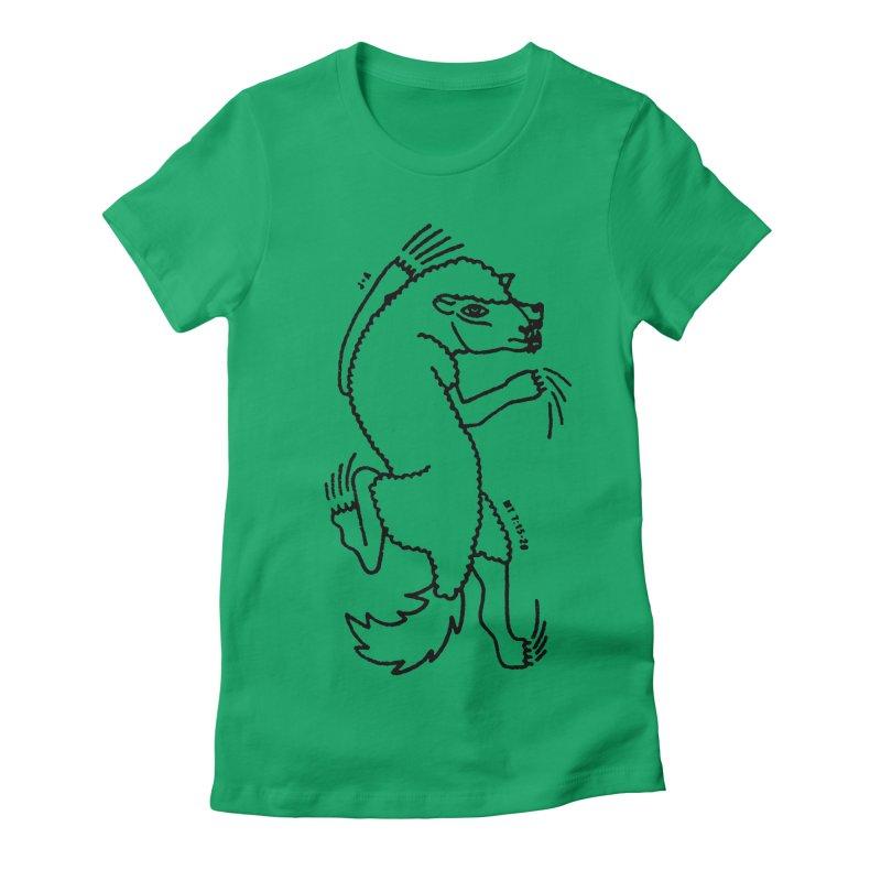 WOLF IN SHEEP'S CLOTHING Women's T-Shirt by Jamus + Adriana