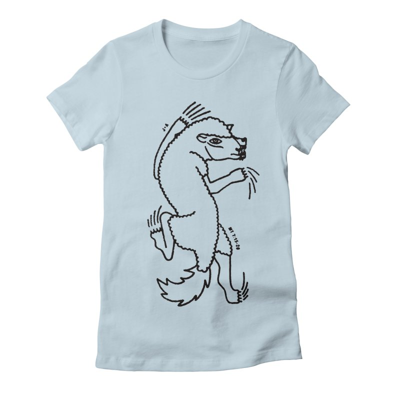 WOLF IN SHEEP'S CLOTHING Women's T-Shirt by Jamus + Adriana