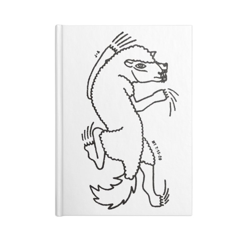 WOLF IN SHEEP'S CLOTHING Accessories Blank Journal Notebook by Jamus + Adriana