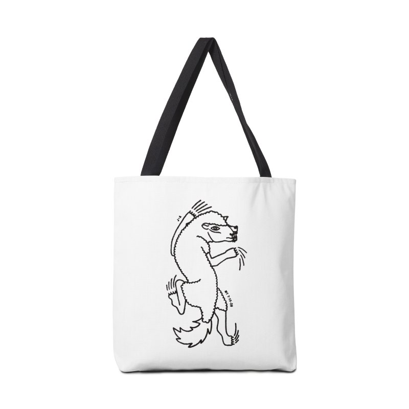 WOLF IN SHEEP'S CLOTHING Accessories Bag by Jamus + Adriana