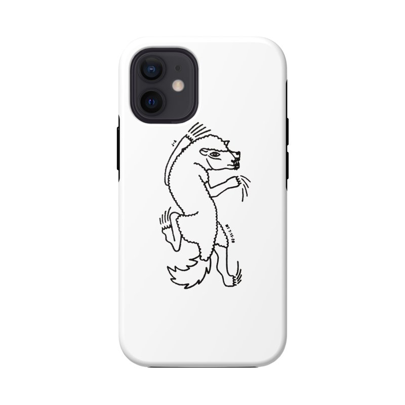 WOLF IN SHEEP'S CLOTHING Accessories Phone Case by Jamus + Adriana