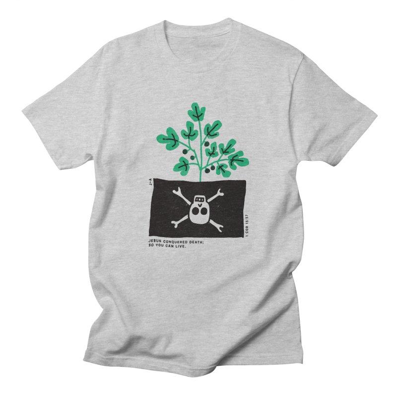 CONQUERED DEATH Men's Regular T-Shirt by Jamus + Adriana