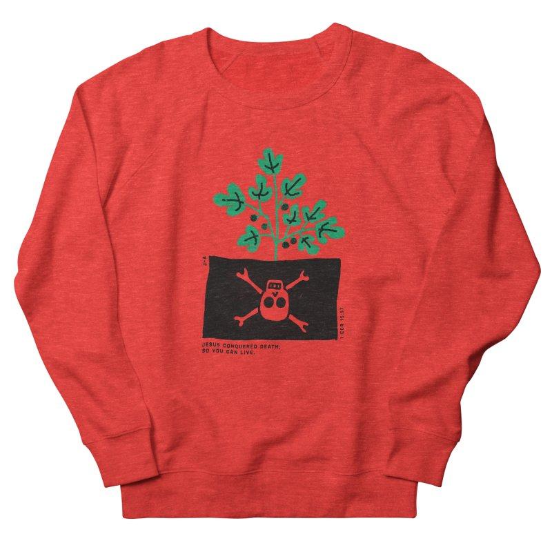 CONQUERED DEATH Men's Sweatshirt by Jamus + Adriana