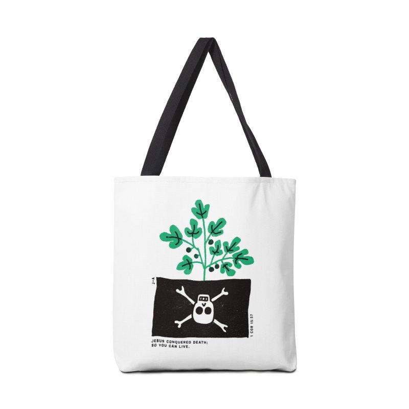 CONQUERED DEATH Accessories Bag by Jamus + Adriana