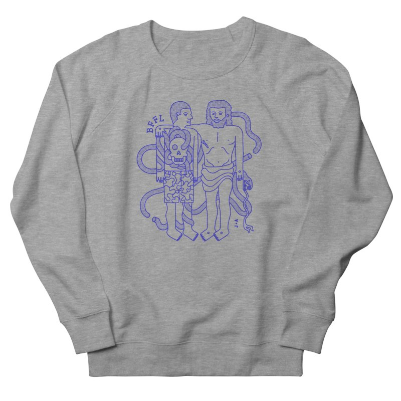 Best friends for life Men's French Terry Sweatshirt by Jamus + Adriana