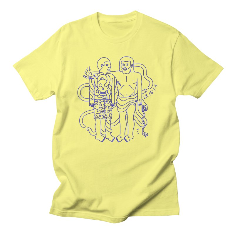 Best friends for life Men's T-Shirt by Jamus + Adriana