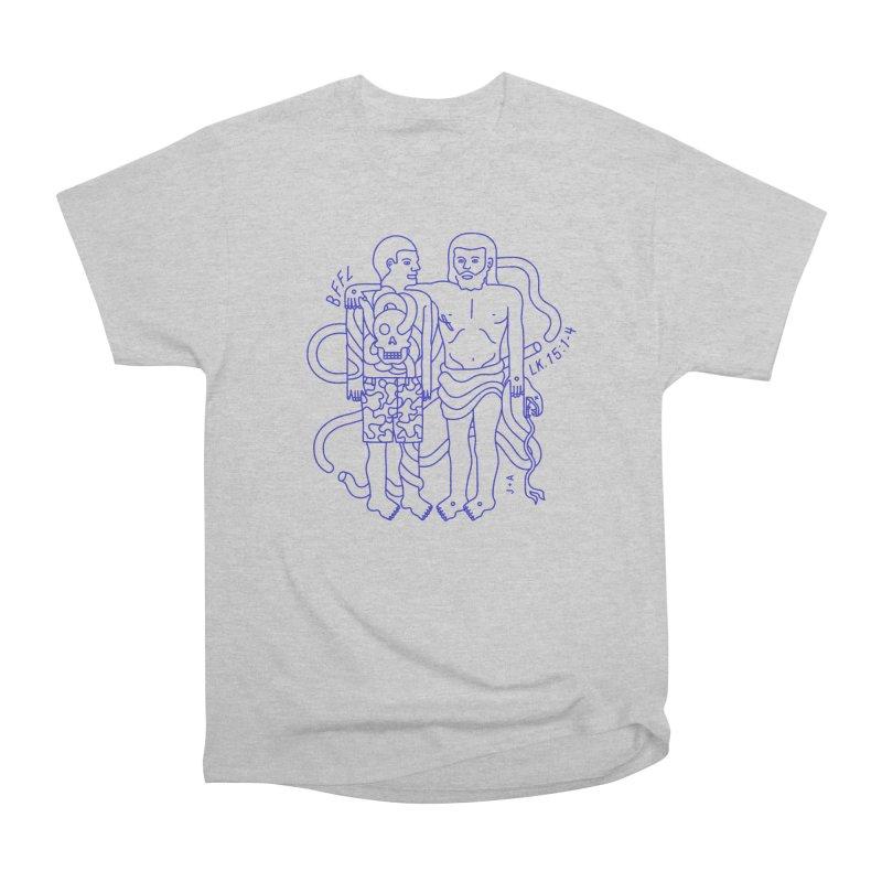 Best friends for life Women's Heavyweight Unisex T-Shirt by Jamus + Adriana