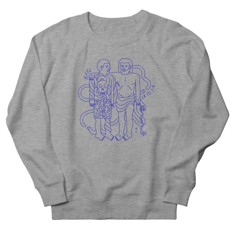 Best friends for life Women's French Terry Sweatshirt by Jamus + Adriana