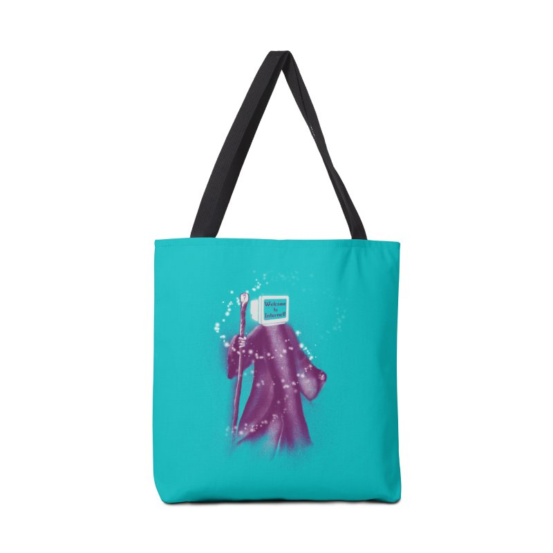 Internet Wizard Accessories Bag by Jana Artist Shop