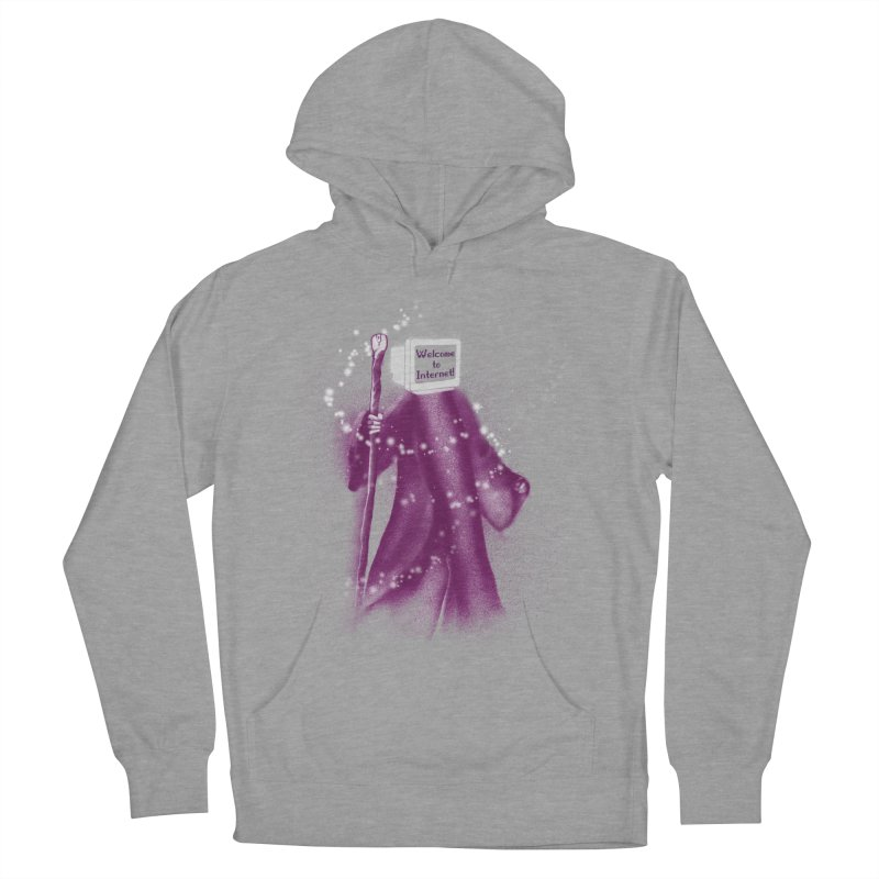 Internet Wizard Women's Pullover Hoody by Jana Artist Shop