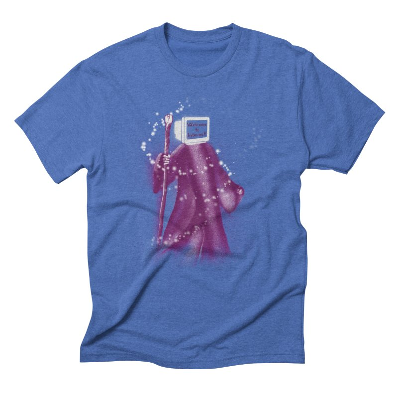 Internet Wizard Men's Triblend T-shirt by Jana Artist Shop