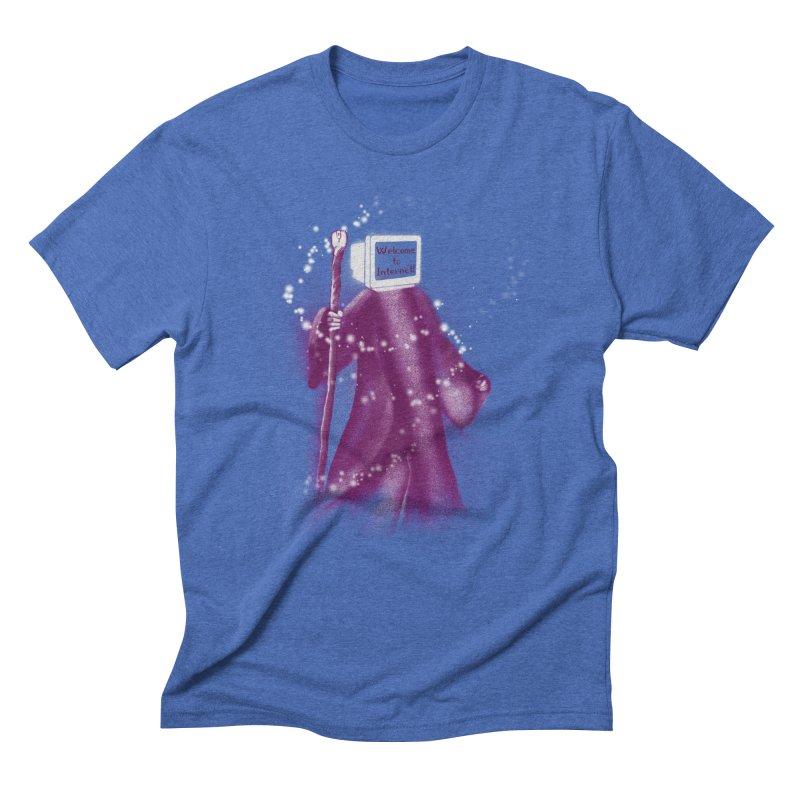 Internet Wizard Men's Triblend T-Shirt by Jana Artist Shop