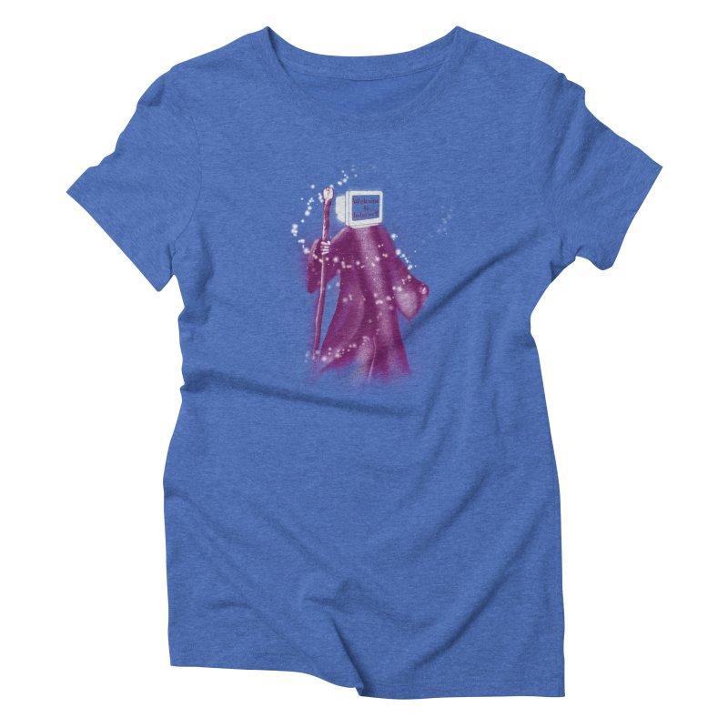 Internet Wizard Women's Triblend T-shirt by Jana Artist Shop