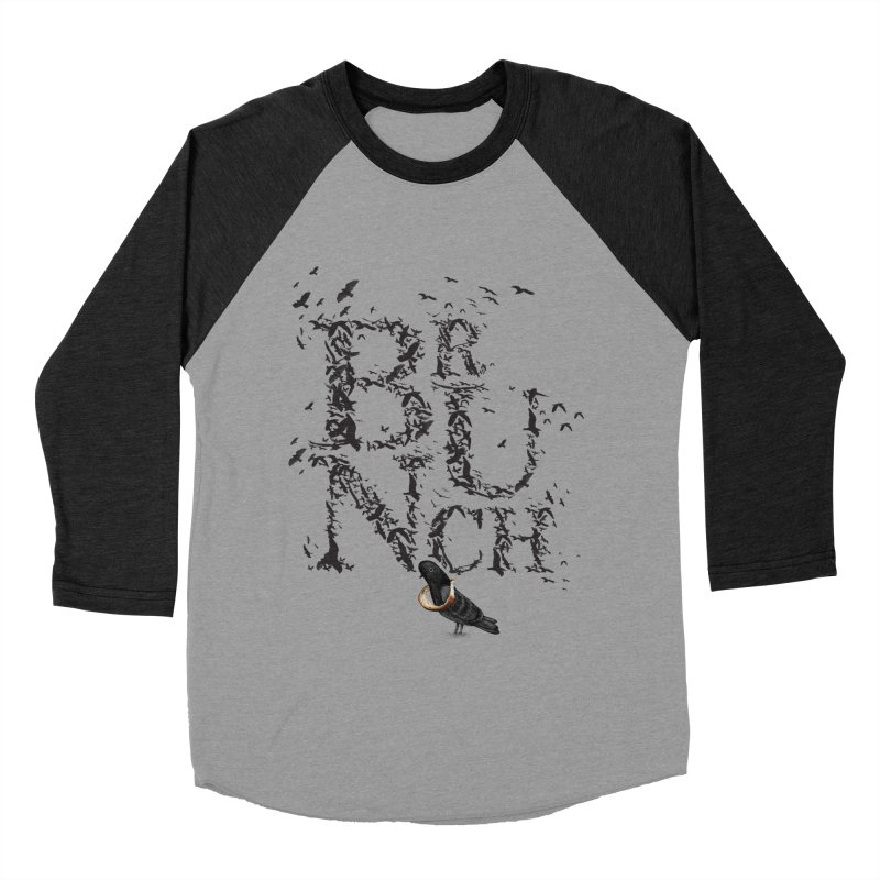 Brunch Men's Baseball Triblend T-Shirt by Jana Artist Shop