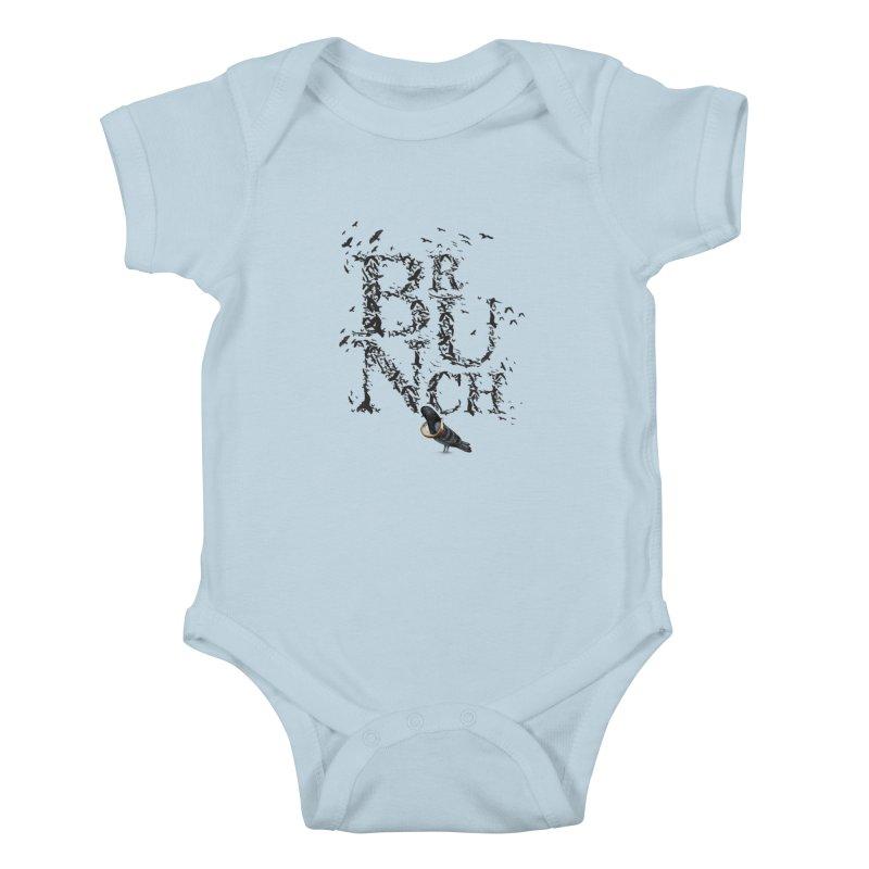 Brunch Kids Baby Bodysuit by Jana Artist Shop