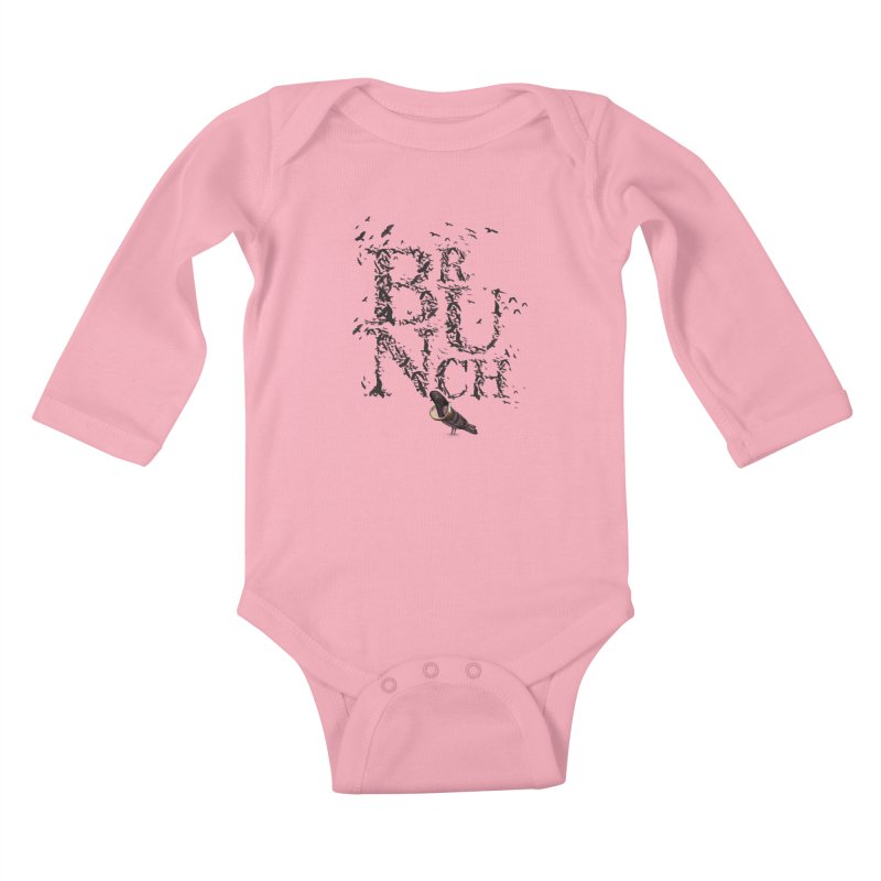 Brunch Kids Baby Longsleeve Bodysuit by Jana Artist Shop