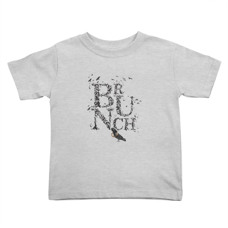 Brunch Kids Toddler T-Shirt by Jana Artist Shop