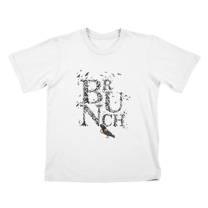 Brunch Kids T-Shirt by Jana Artist Shop