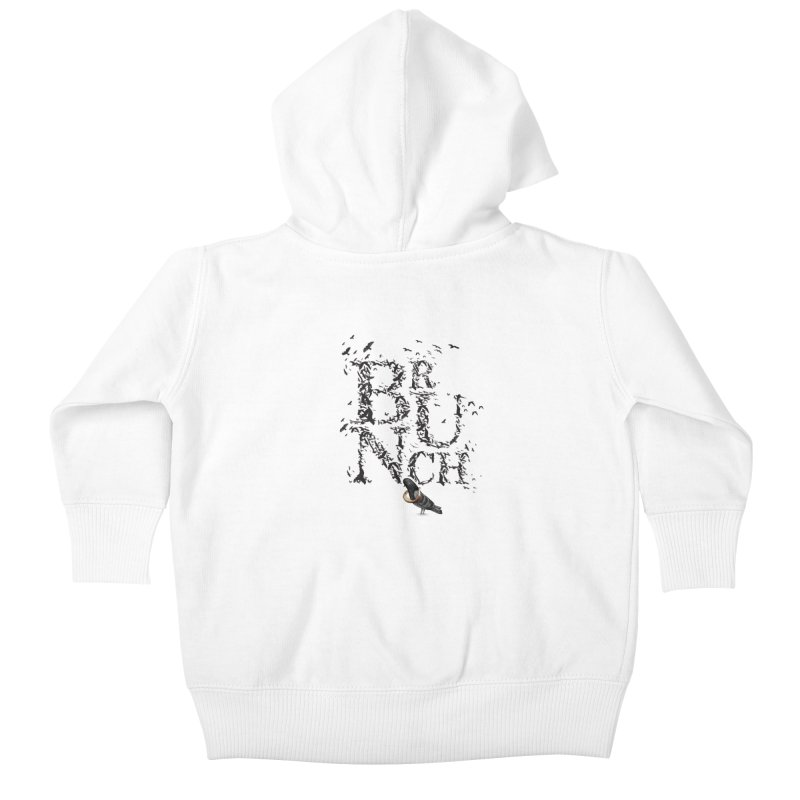 Brunch Kids Baby Zip-Up Hoody by Jana Artist Shop
