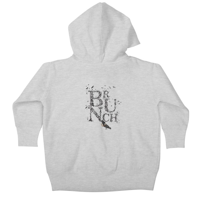 Brunch Kids Baby Zip-Up Hoody by Jana Artist Shop