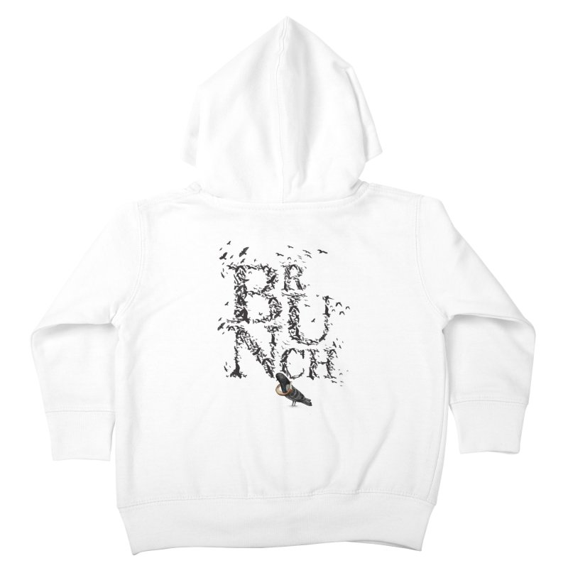 Brunch Kids Toddler Zip-Up Hoody by Jana Artist Shop