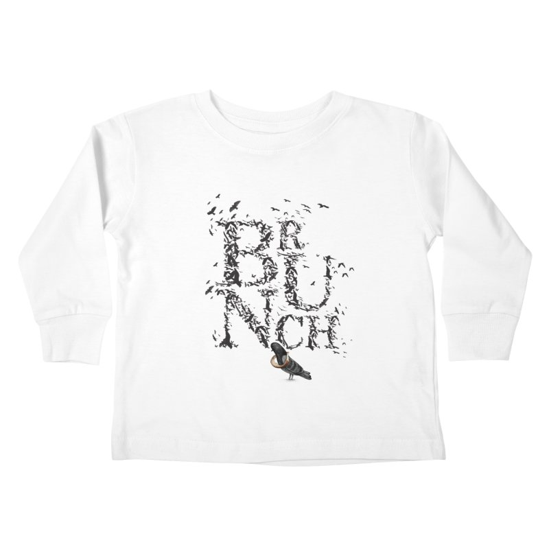 Brunch Kids Toddler Longsleeve T-Shirt by Jana Artist Shop