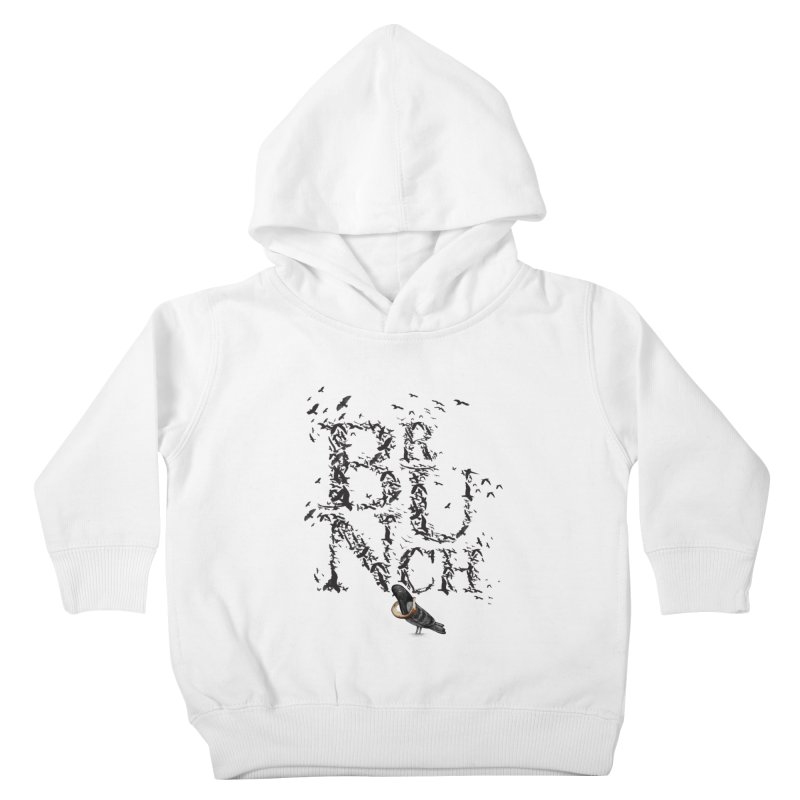 Brunch Kids Toddler Pullover Hoody by Jana Artist Shop