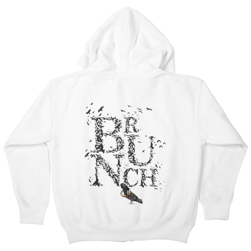 Brunch Kids Zip-Up Hoody by Jana Artist Shop