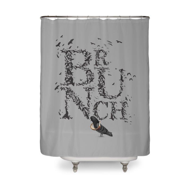 Brunch Home Shower Curtain by Jana Artist Shop