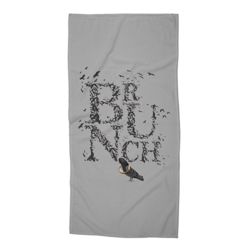 Brunch Accessories Beach Towel by Jana Artist Shop