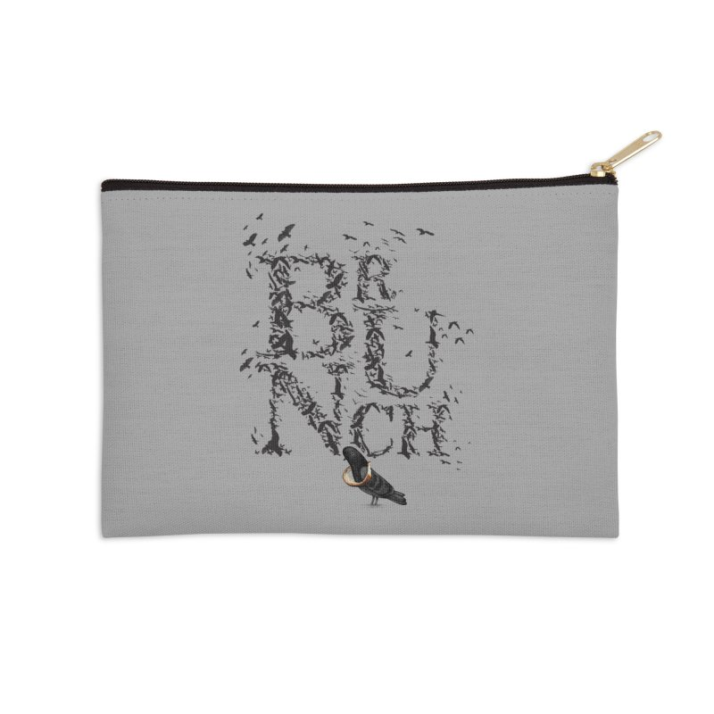 Brunch Accessories Zip Pouch by Jana Artist Shop