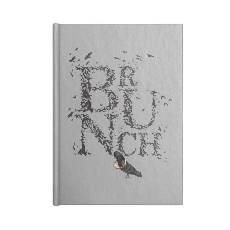 Brunch Accessories Notebook by Jana Artist Shop