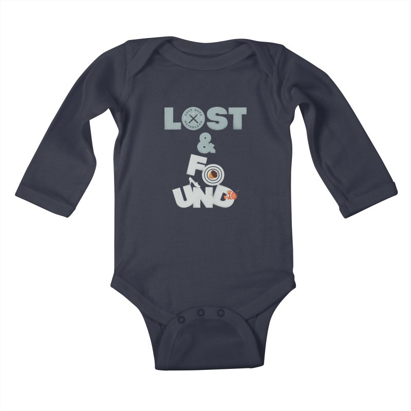 Lost & Found Kids Baby Longsleeve Bodysuit by Jana Artist Shop