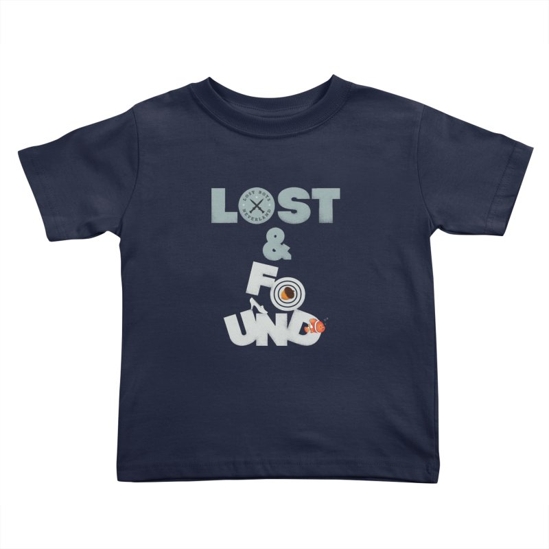 Lost & Found Kids Toddler T-Shirt by Jana Artist Shop