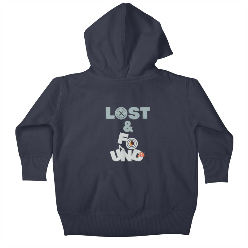 Lost & Found Kids Baby Zip-Up Hoody by Jana Artist Shop