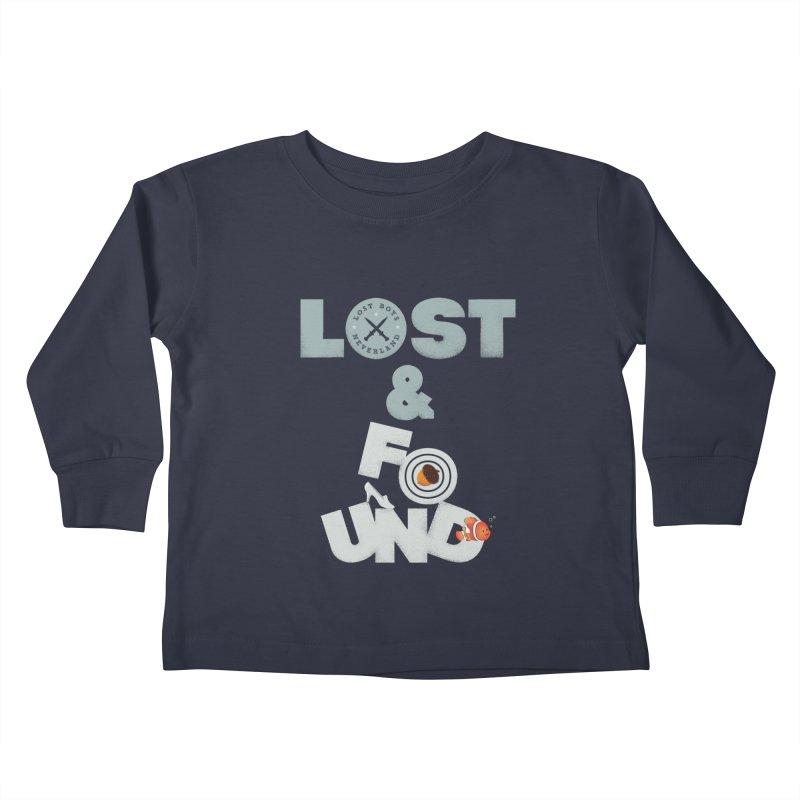 Lost & Found Kids Toddler Longsleeve T-Shirt by Jana Artist Shop