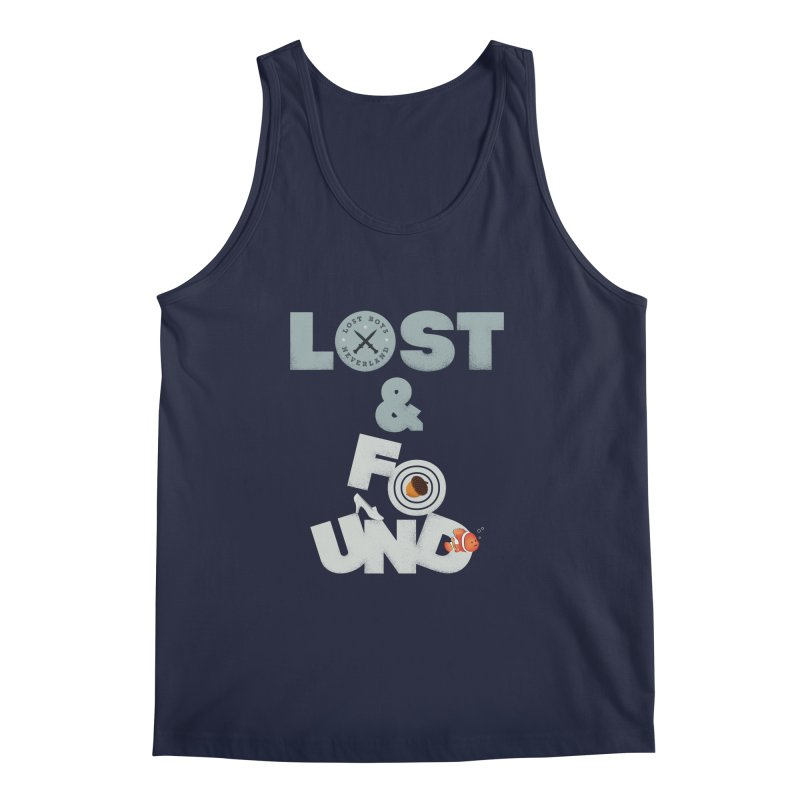 Lost & Found Men's Tank by Jana Artist Shop