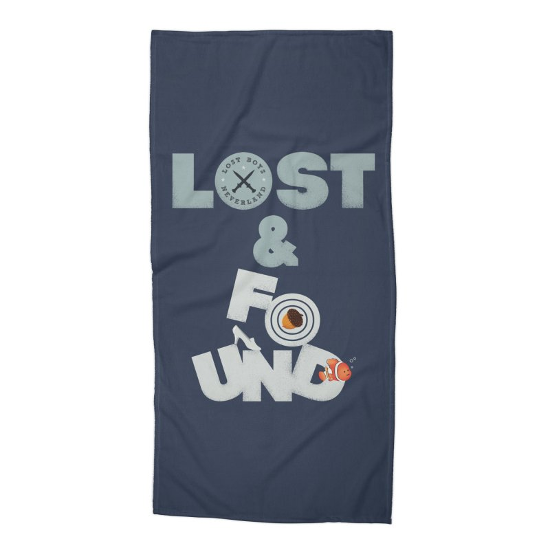 Lost & Found Accessories Beach Towel by Jana Artist Shop