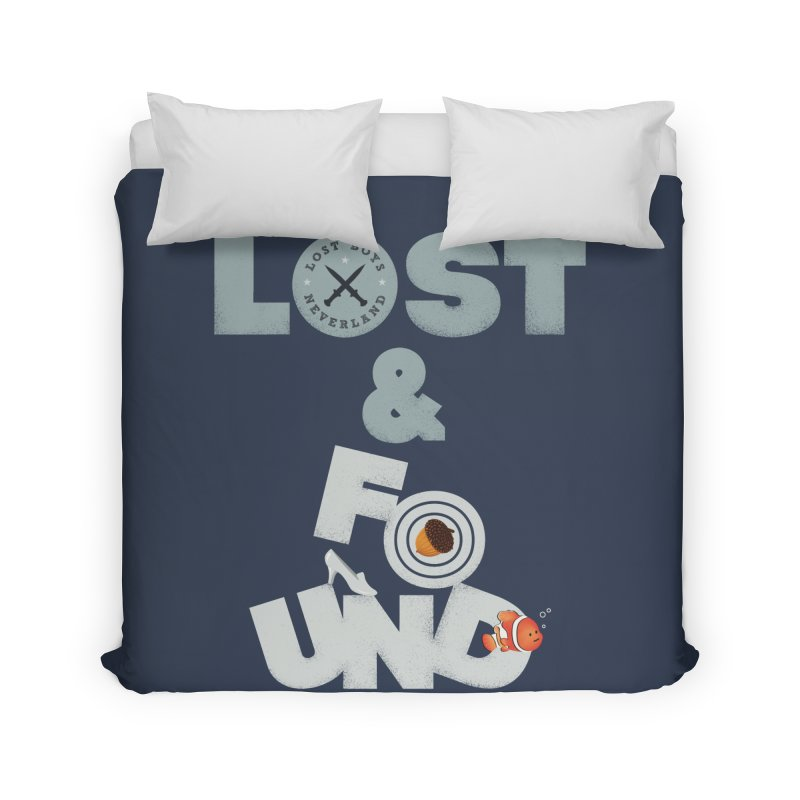 Lost & Found Home Duvet by Jana Artist Shop