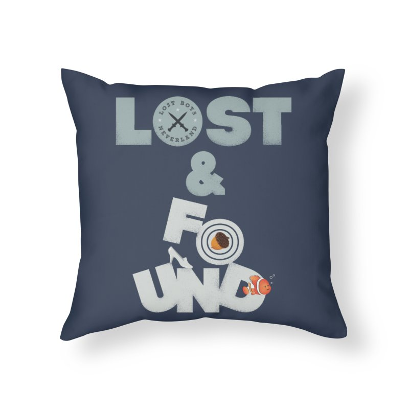 Lost & Found Home Throw Pillow by Jana Artist Shop