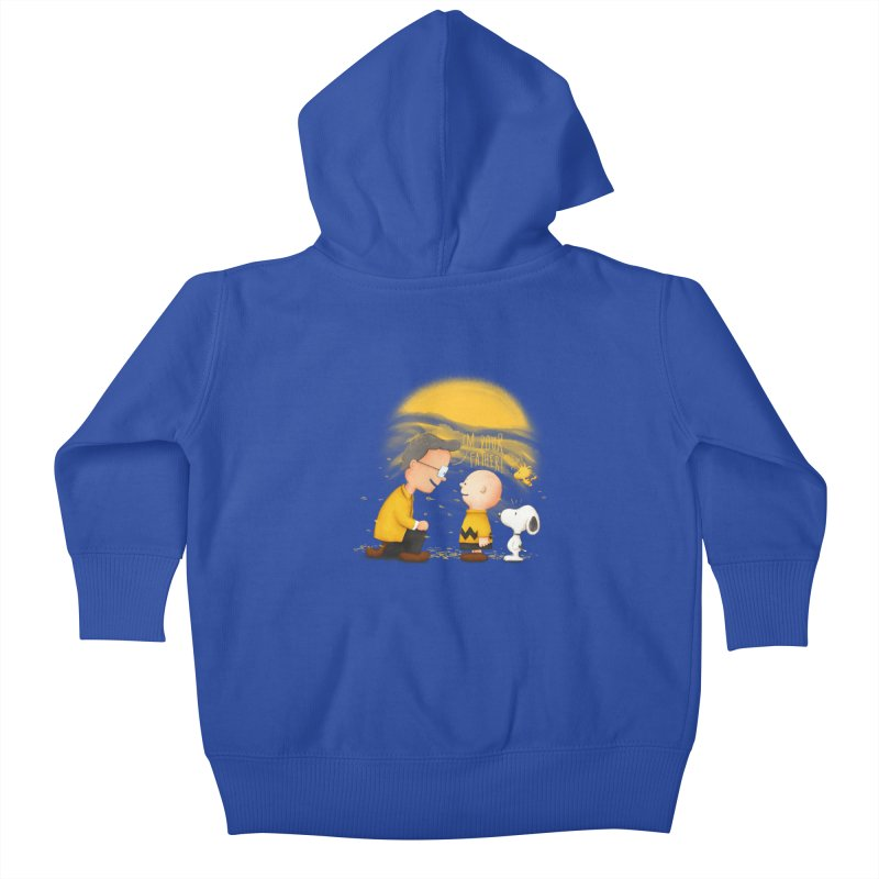 I'm your father Kids Baby Zip-Up Hoody by Jana Artist Shop