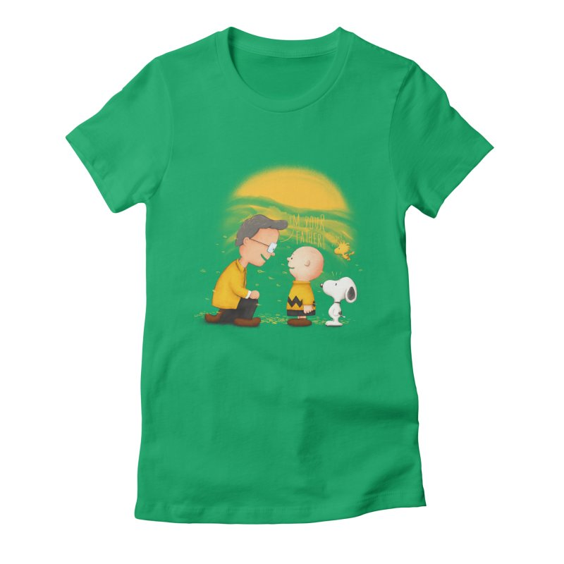 I'm your father Women's Fitted T-Shirt by Jana Artist Shop