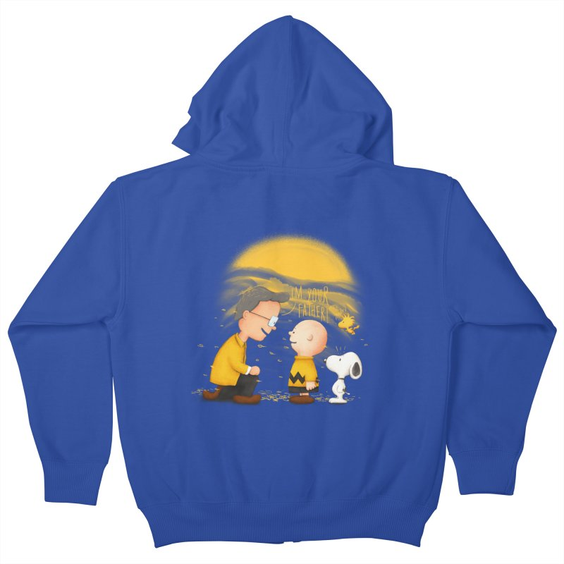 I'm your father Kids Zip-Up Hoody by Jana Artist Shop