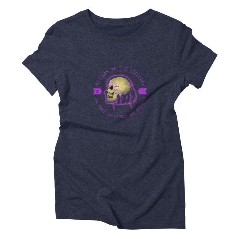 The Origin Women's Triblend T-shirt by Jana Artist Shop