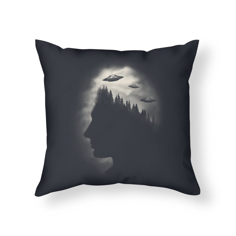 He Believes Home Throw Pillow by Jana Artist Shop