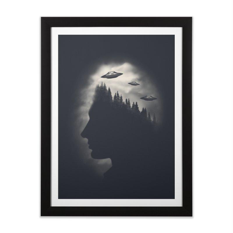 He Believes Home Framed Fine Art Print by Jana Artist Shop