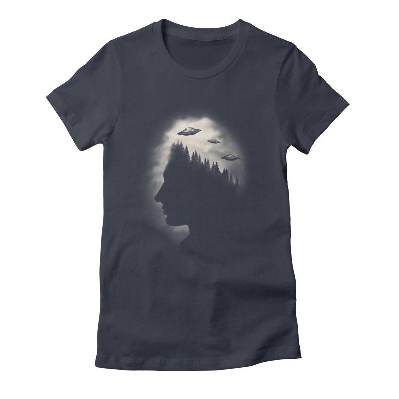 He Believes Women's Fitted T-Shirt by Jana Artist Shop