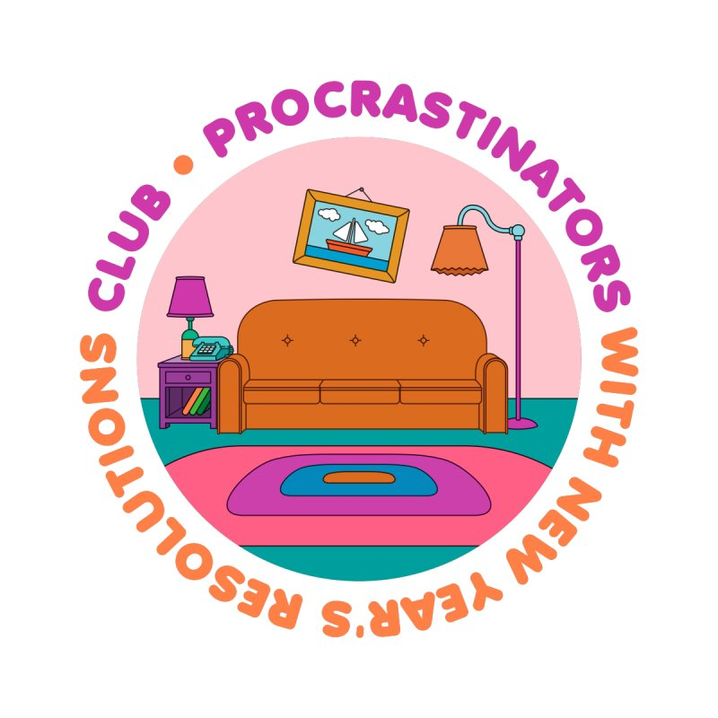 Procrastinators Club Home Duvet by Jana Artist Shop