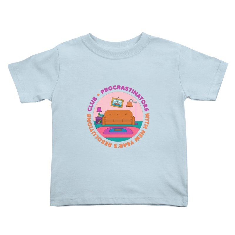 Procrastinators Club Kids Toddler T-Shirt by Jana Artist Shop