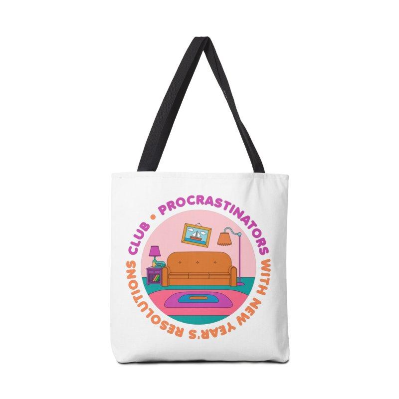 Procrastinators Club Accessories Bag by Jana Artist Shop